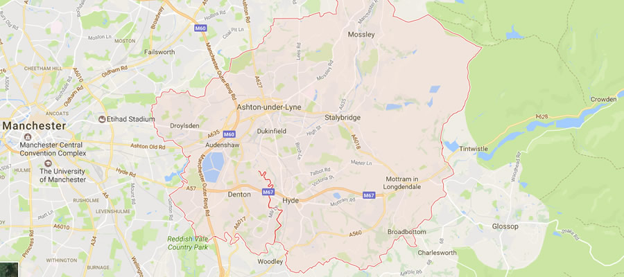 tameside areas covered for plumbing and heating